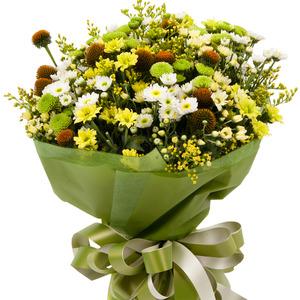 소국화 모듬(꽃다발)