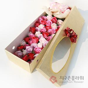 혼합핑크(꽃상자)