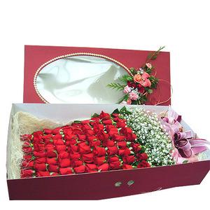 장미 꽃상자(2, 송이수는 시세에따라 다름)