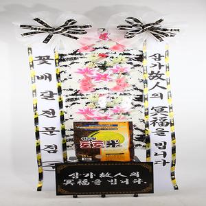 근조 쌀화환(꽃그림판)10KG(배송비무료)